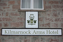 The Kilmarnock Arms Hotel, where Bram Stoker stayed while writing Dracula, on Bridge St, Cruden Bay, Aberdeenshire.