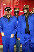 The Blind Boys of Alabama in the Media Room at The 2009 Essence Music Festival held at The Superdome in New Orleans, Louisiana on July 5, 2009