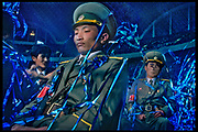 """Military police at May Day Stadium, Pyongyang, North Korea - """"Inside North Korea"""" MARIE CLAIRE"""