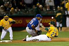 20150407 - Texas Rangers at Oakland Athletics