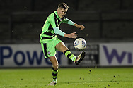 Forest Green Rovers Nathan Trueman(4) clears the ball during the The FA Youth Cup match between Bristol Rovers and Forest Green Rovers at the Memorial Stadium, Bristol, England on 2 November 2017. Photo by Shane Healey.