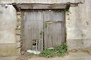 Land abandonment.Martiago village, Salamanca Region, Castilla y León, Spain