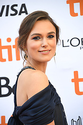 September 11, 2018 - Toronto, Ontario, Canada - KEIRA KNIGHTLEY attends 'Colette' premiere during the 2018 Toronto International Film Festival at Princess of Wales Theatre. (Credit Image: © Igor Vidyashev/ZUMA Wire)