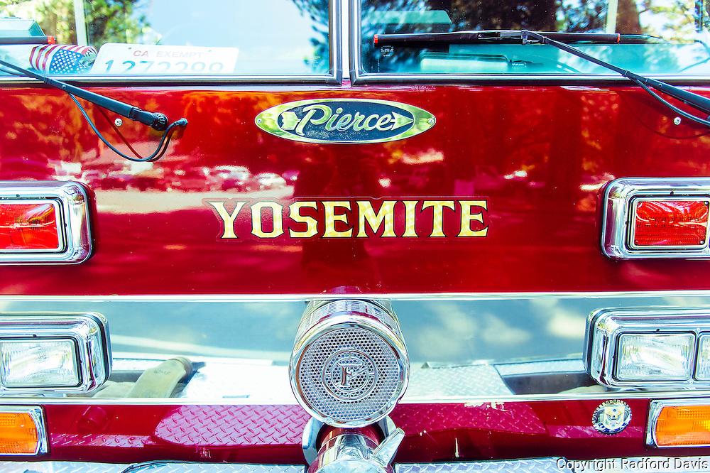Firetrucks of Yosemite National Park.