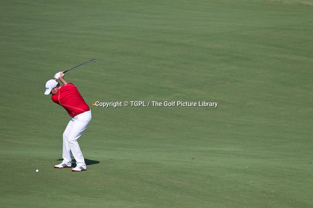 Marcus FRASER (AUS) during first round DP World Tour Championship 2013,Jemeirah Golf Estates, Dubai,UAE.