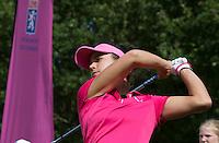 EEMNES -  Golfprofessional Dewi Claire Schreefel , ambassadeur NGF GIRLZ golf,  COPYRIGHT KOEN SUYK