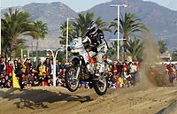Motor - Paris Dakar 2003 - Castellon til Valencia<br />03.01.2003<br />Pål Anders Ullevålseter fra Norge<br />Foto: Gilles Levent, Digitalsport