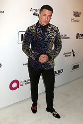 February 24, 2019 - West Hollywood, CA, USA - LOS ANGELES - FEB 24:  Colton Haynes at the Elton John Oscar Viewing Party on the West Hollywood Park on February 24, 2019 in West Hollywood, CA (Credit Image: © Kay Blake/ZUMA Wire)