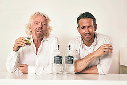 EDITORIAL USE ONLY<br /> Richard Branson and Ryan Reynolds announce a new partnership between Virgin Atlantic and Aviation American Gin, which is owned by the actor.