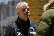 AFC Wimbledon manager Glyn Hodges, post-match interview after the EFL Sky Bet League 1 match between Gillingham and AFC Wimbledon at the MEMS Priestfield Stadium, Gillingham, England on 24 November 2020.