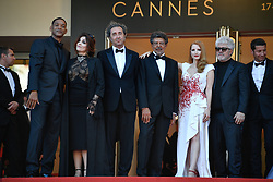 Will Smith, Agnes Jaoui, Paolo Sorrentino, Gabriel Yared, Jessica Chastain, Pedro Almodovar arriving for the 70th Cannes Film Festival closing ceremony on May 28, 2017 in Cannes, France. Photo by Julien Zannoni/APS-Medias/ABACAPRESS.COM
