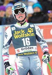 21.12.2013, Saslong, Groeden, ITA, FIS Ski Weltcup, Groeden, Abfahrt, Herren, im Bild Hannes Reichelt (AUT) // Hannes Reichelt of Austria reacts in the finish Area during mens Downhill of the Groeden FIS Ski Alpine World Cup at the Saslong Course in Gardena, Italy on 2012/12/21. EXPA Pictures © 2013, PhotoCredit: EXPA/ Erich Spiess