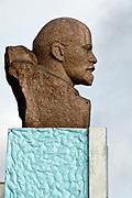 Statue of Lenin in Barentsburg, Spitsbergen, Svalbard