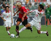 Hong Kong 23/07/05 Hong Kong XI v Manchester United (0-2) <br />ALAN SMITH  (MANCHESTER UNITED)<br />PHOTO FOTOSPORTS INTERNATIONAL/OSPORTS