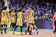 Mazzola Valerio Vujacic Aleksander Blue Vander<br /> FIAT Torino - Germani Basket Brescia<br /> Postemobile Final 8 2018<br /> Firenze, 17/02/2018<br /> Foto M.Matta/Ciamillo-Castoria