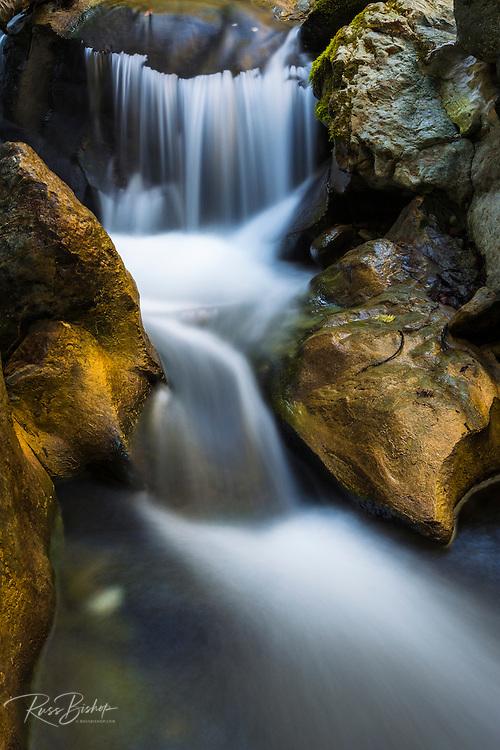 Cascade on Hare Creek, Limekiln State Park, Big Sur, California