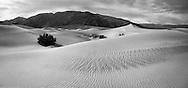 Sand Ripples, Death Valley National Park, California, Black And White