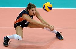 27-09-2014 ITA: World Championship Volleyball Rusland - Nederland, Verona<br /> Nederland verliest met 3-1 van Rusland / Anne Buijs