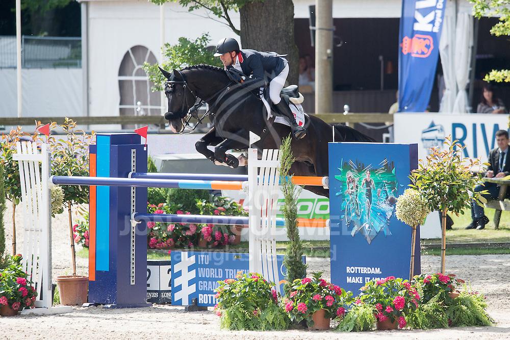 Simon Delestre (FRA) & Qlassic Bois Margot - Furusiya FEI Nations Cup presented by Longines - CHIO Rotterdam 2016 - Kralingse Bos, Rotterdam, Netherlands - 24 June 2016