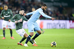 January 16, 2019 - Saint Etienne, France, FRANCE - CABELLA Remy (ASSE) vs ROLANDO Jorge  (Credit Image: © Panoramic via ZUMA Press)