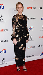 April 25, 2018 - New York City, New York, USA - 4/24/18.Emily Blunt at the TIME 100 Most Influential People in The World Gala in New York City. (Credit Image: © Starmax/Newscom via ZUMA Press)