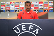 Antonio Valencia Midfielder of Manchester United during the Celta Vigo v Manchester United Press Conference at Balaidos, Vigo, Spain on 3 May 2017. Photo by Phil Duncan.