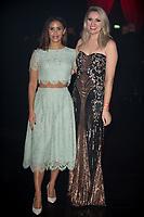 Shanie Ryan, Larissa Eddie at  the British Curry Awards, at Evolution Battersea park London.
