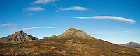 Holandsmelen mountain peak, Vestvagoy, Lofoten Islands, Norway