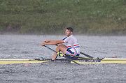 Rotterdam. Netherlands. Tom BARRAS, GBR M1X.2016 JWRC, U23 and Non Olympic Regatta. {WRCH2016} at the Willem-Alexander Baan.   Sunday  21/08/2016 <br /> <br /> [Mandatory Credit; Peter SPURRIER/Intersport Images]