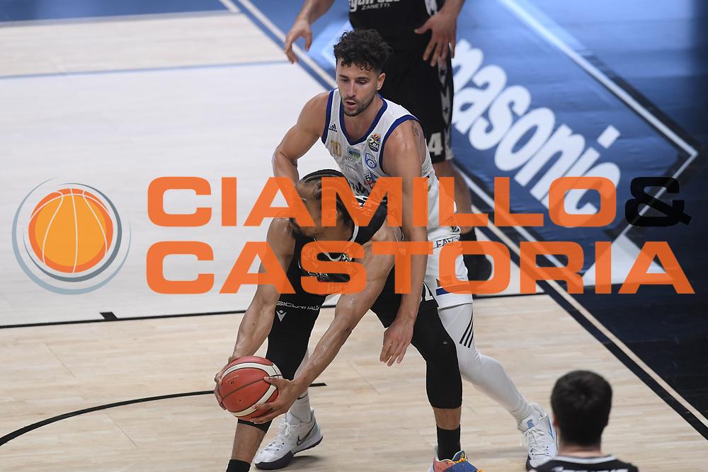 Hunter Vincent<br /> Segafredo Virtus Bologna - Happy Casa Brindisi<br /> Semifinali - Gara 3<br /> Legabasket Serie A UnipolSAI 2020/2021<br /> Bologna, 02/06/2021<br /> Foto GiulioCiamillo / Ciamillo