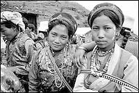 Nepal. Region de Helambu. population Tamang. // Nepal. Helambu region. Tamang ethnic group.
