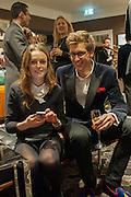 LADY VIOLET MANNERS; ROBERT SANCROFT-BAKER, Opening of new Hackett flagship store. Regent St. London. 28 November 2013.