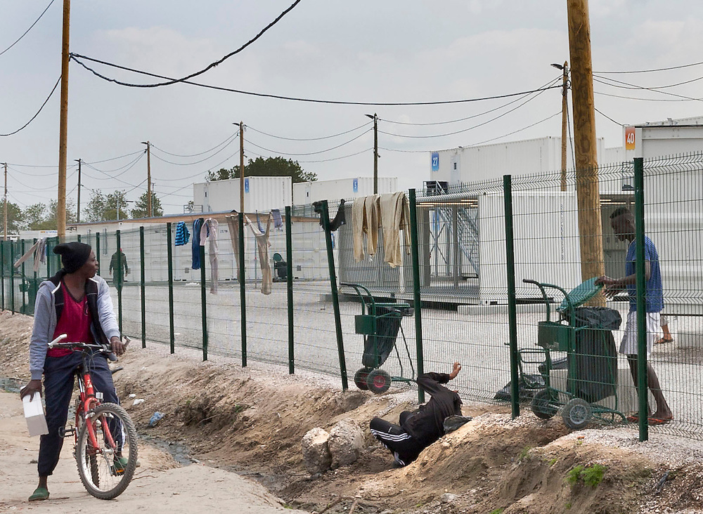 The Jungle, refugee camp, France