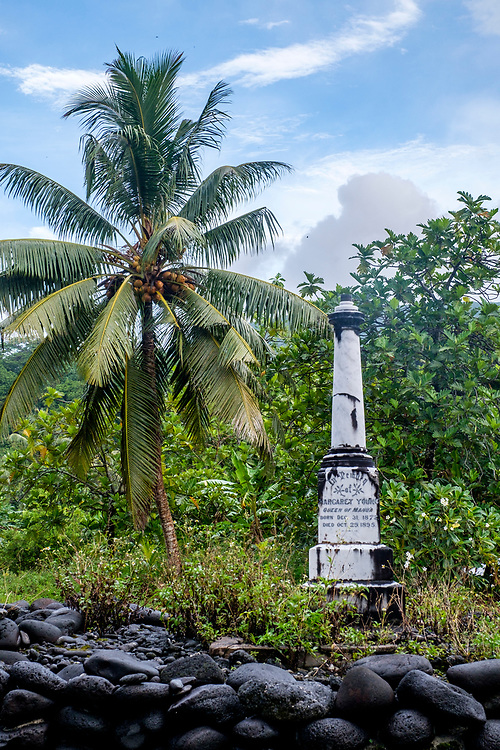 The burial place of the former Queen of Manu'a.