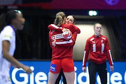 Kristina Jørgensen. EHF Euro 2020 Group A match between France and Denmark in Jyske Bank Boxen, Herning, Denmark on December 8, 2020. Photo Credit: Allan Jensen/EVENTMEDIA.