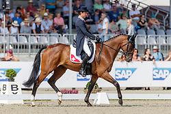 Vogg Felix, SUI, Archie Rocks<br /> European Championship Eventing<br /> Luhmuhlen 2019<br /> © Hippo Foto - Stefan Lafrentz