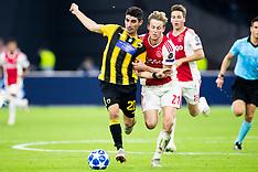 Ajax Amsterdam v AEK FC - 19 Sept 2018