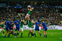 February 3, 2018 - Saint Denis, Seine Saint Denis, France - The Lock of Irish team JAMES RYAN in action during the NatWest Six Nations Rugby tournament between France and Ireland at the Stade de France - St Denis - France..Ireland Won 15-13 (Credit Image: © Pierre Stevenin via ZUMA Wire)