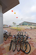 Chungju, South Korea. 2013 FISA World Rowing Championships, General Views of the  Tangeum Lake International Regatta Course. 08:38:47  Saturday  24/08/2013 [Mandatory Credit. Peter Spurrier/Intersport Images]