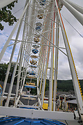 Ferris Wheel at Titisee, Neustadt, (Black forest Schwarzwald), Baden-Württemberg, Germany