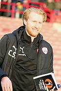 Barnsley First Team Coach Christopher Stern during the EFL Sky Bet League 1 match between Barnsley and Charlton Athletic at Oakwell, Barnsley, England on 29 December 2018.