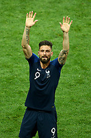 Olivier Giroud (France) celebration<br /> Celebration Victory France <br /> Moscow 15-07-2018 Football FIFA World Cup Russia  2018 Final / Finale <br /> France - Croatia / Francia - Croazia <br /> Foto Matteo Ciambelli/Insidefoto