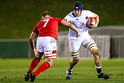 Alex Coles of England U20 - Mandatory by-line: Robbie Stephenson/JMP - 22/02/2019 - RUGBY - Zip World Stadium - Colwyn Bay, Wales - Wales U20 v England U20 - Under-20 Six Nations