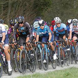 28-03-2021: Wielrennen: Gent-Wevelgem: Wevelgem<br />Thalita de Jiong op de ploegsteerts