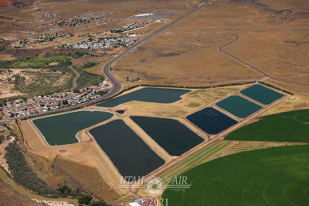 Water reclamation ponds