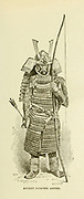 Ancient Japanese Archer from the book ' Rambles in Japan : the land of the rising sun ' by Tristram, H. B. (Henry Baker), 1822-1906. Publication date 1895. Publisher New York : Revell