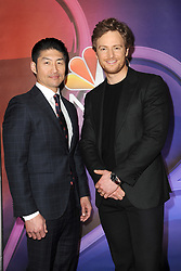 March 8, 2018 - New York, NY, USA - March 8, 2018  New York City..Brian Tee and Nick Gehlfuss attending arrivals for the 2018 NBC NY Midseason Press Junket at Four Seasons Hotel on March 8, 2018 in New York City. (Credit Image: © Kristin Callahan/Ace Pictures via ZUMA Press)
