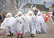 Vinkel  Carnavals  Jeugd optocht De spoken van groep 4