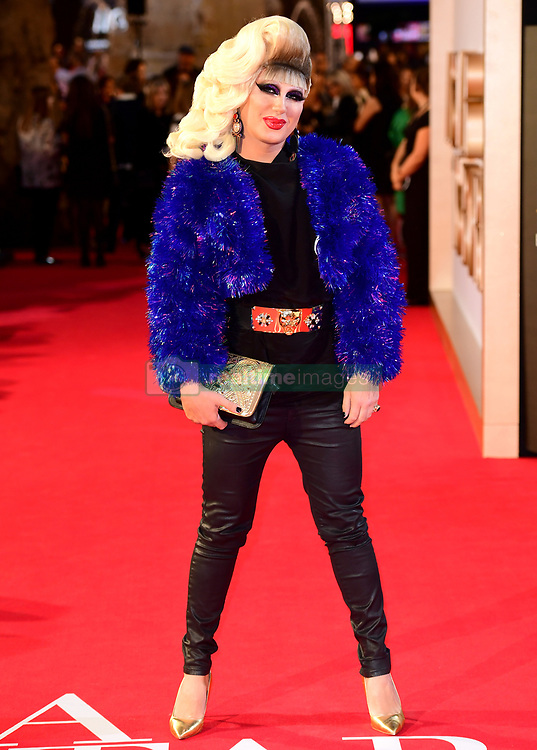 Jodie Harsh attending the UK Premiere of A Star is Born held at the Vue West End, Leicester Square, London.