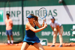 May 31, 2018 - Paris, U.S. - PARIS, FRANCE - MAY 31: MARIA SHARAPOVA (RUS) during day five match of the 2018 French Open 2018 on May 31, 2018, at Stade Roland-Garros in Paris, France. (Photo by Chaz Niell/Icon Sportswire) (Credit Image: © Chaz Niell/Icon SMI via ZUMA Press)